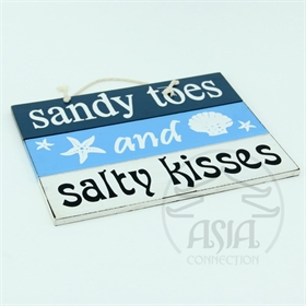 "PLACA DECOR ""SANDY TOES"""