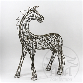 CAVALO DECOR METAL 73 Cm