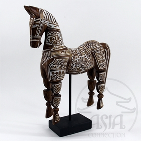 CAVALO DECOR PRIMITIVO BASE 54 Cm