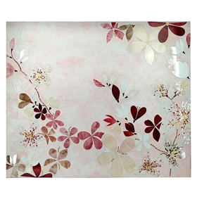 QUADRO DECOR FLAMINGO B 120CM